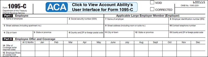 1095 Software - ACA Software and 1095-C IRS 6056 Compliance