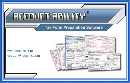 W2 And 1099 Software With Electronic Reporting And Irs Tin Matching